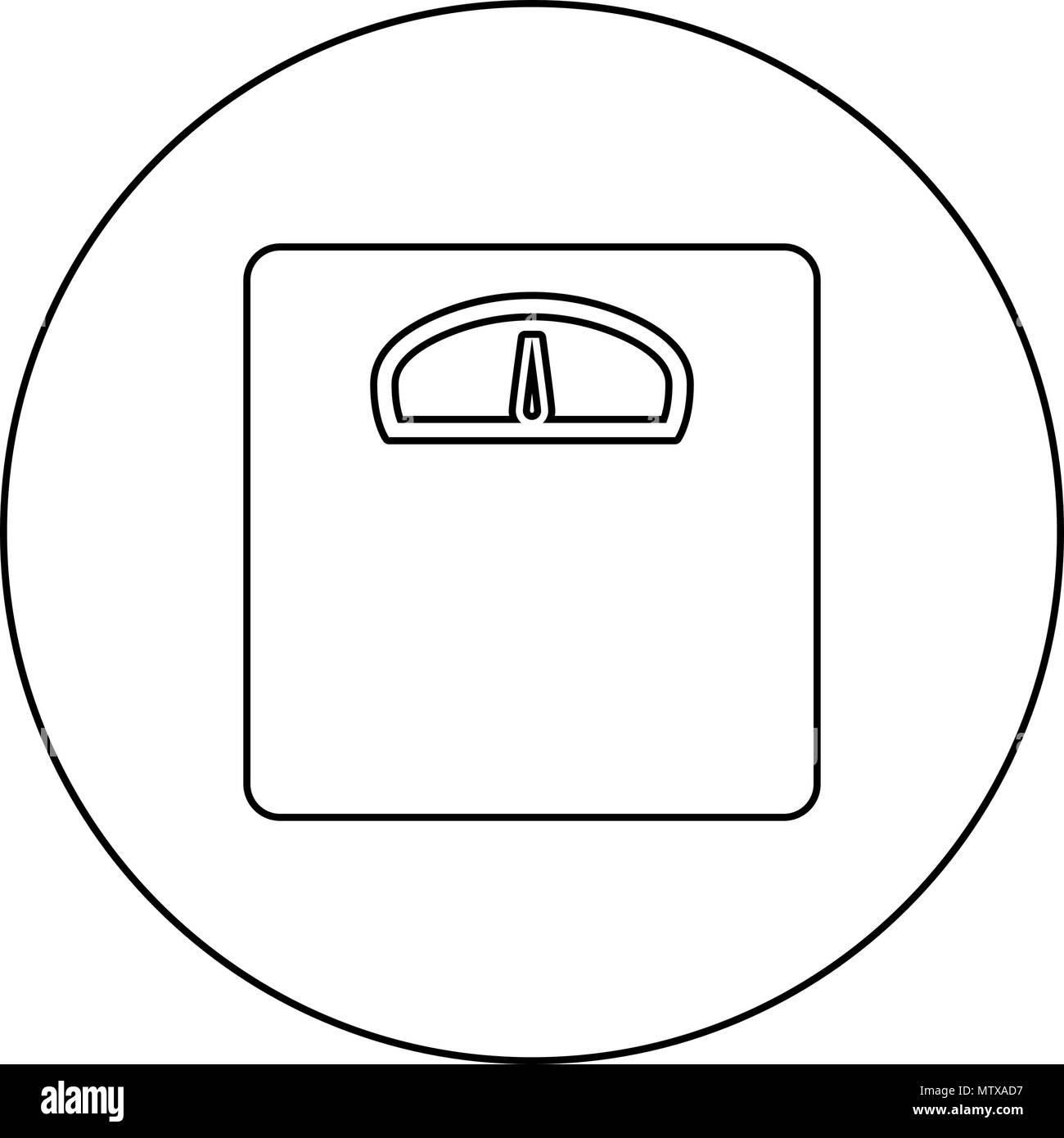 analog weight scale black and white stock photos images alamy