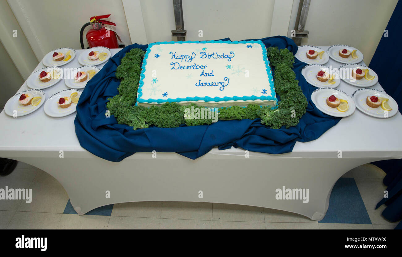 Newport News Va Jan 18 2017 Pictured Is A Birthday Cake For