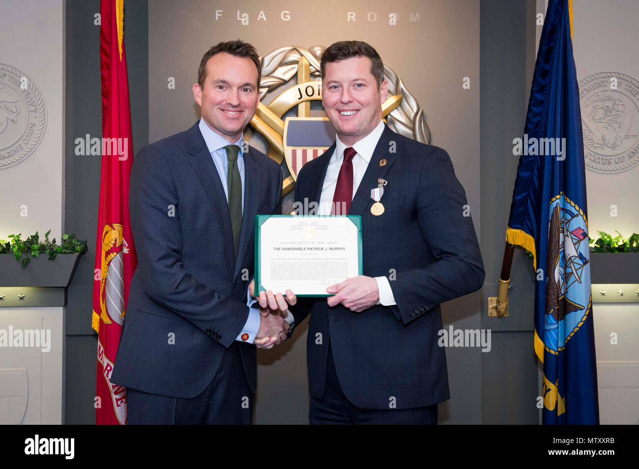 be3ac8991d Secretary of the U.S. Army Eric K. Fanning and Under Secretary of the Army  Patrick