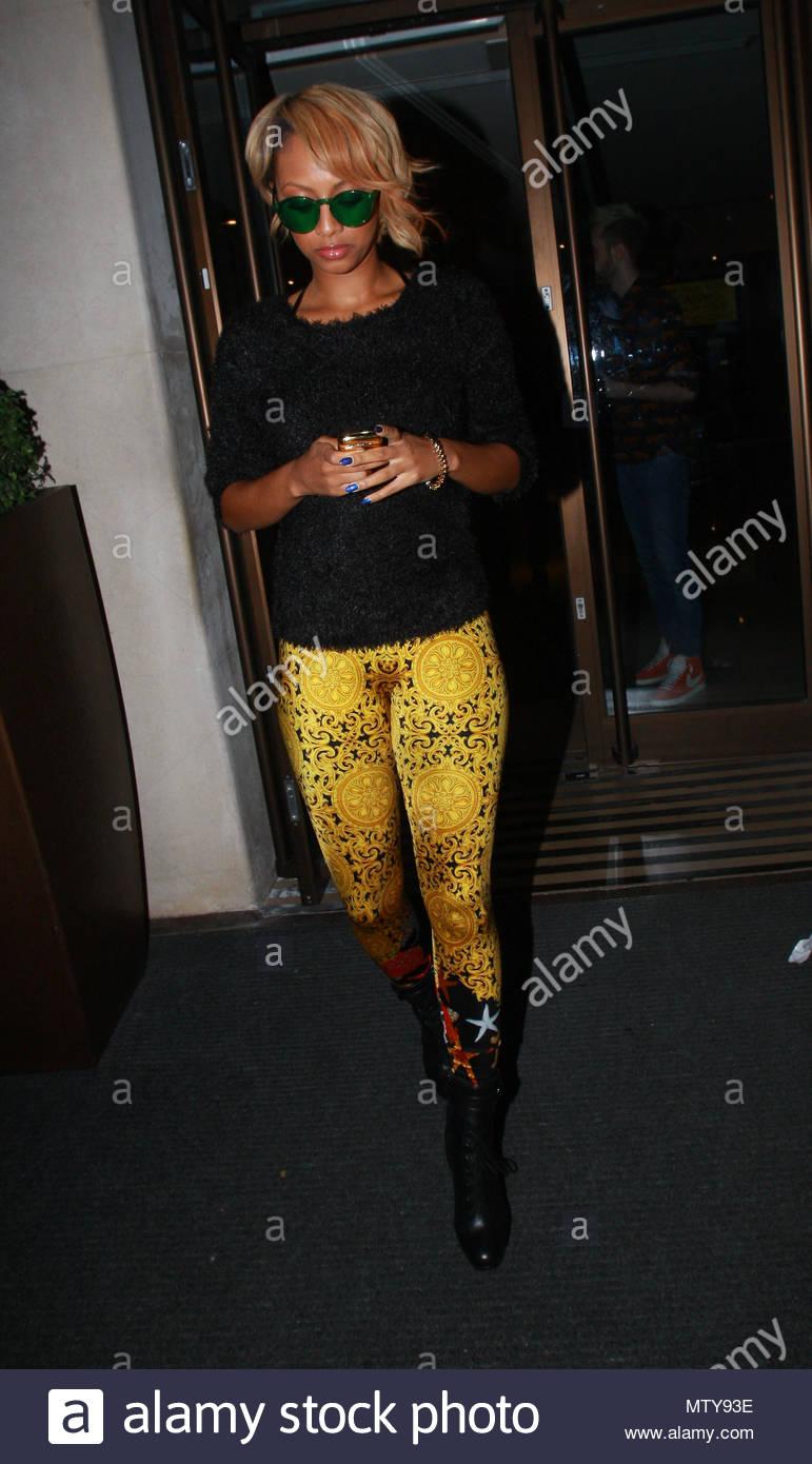 45d90d64b2 Keri hilson us singer keri hilson pictured leaving may fair hotel wearing  green tinted sunglasses in