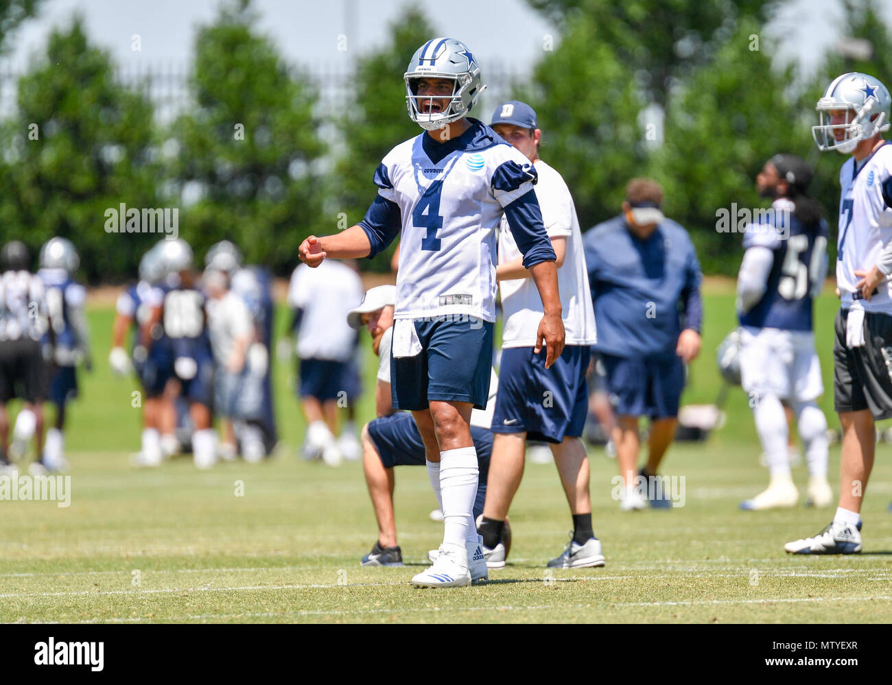 dallas cowboys youth academy minicamp
