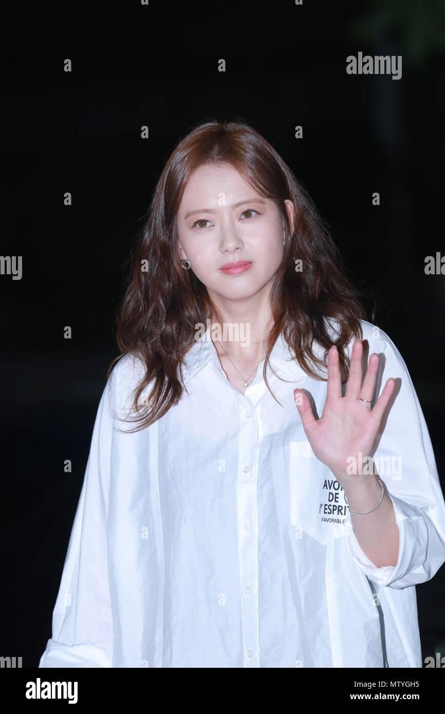 Seoul, Korea  30th May, 2018  Go Ara, Kim Myung Soo, Lee Ye