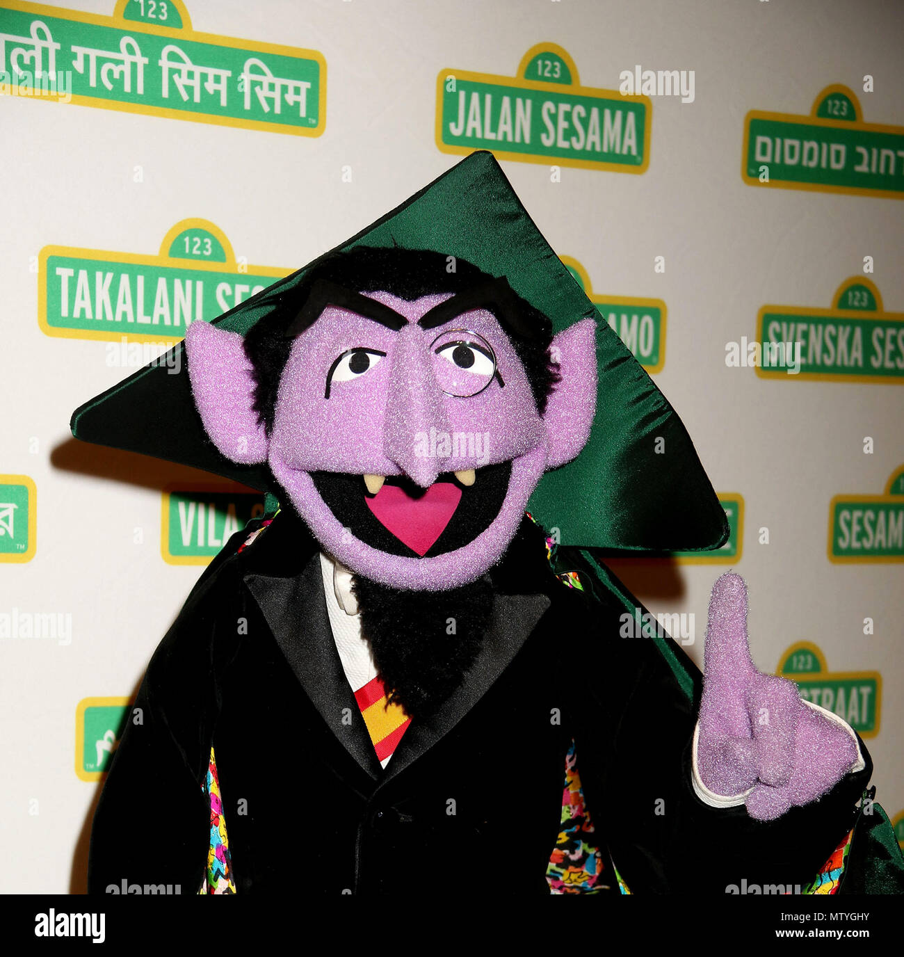 The Count Of Sesame Street Stock Photos The Count Of