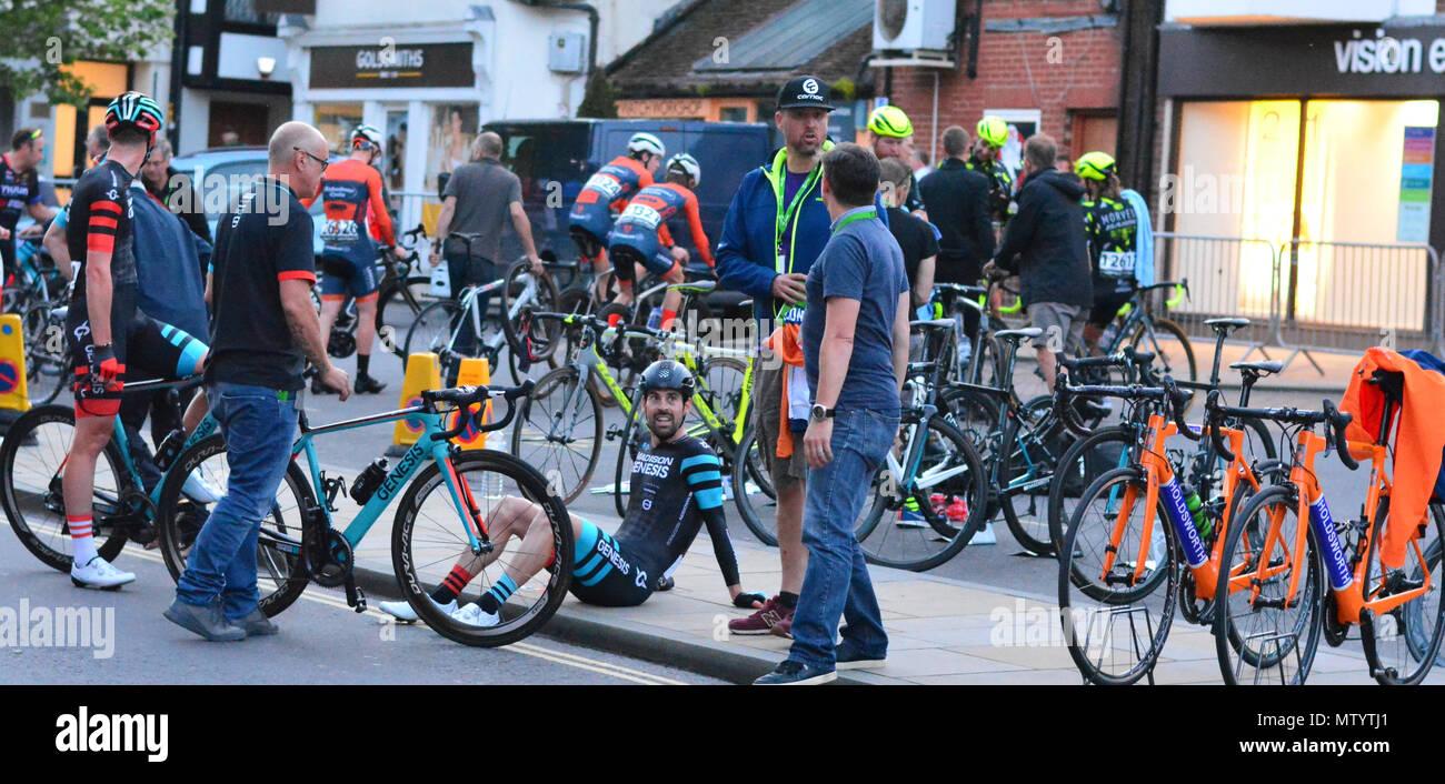 Salisbury, Wiltshire, UK. 31st May 2018. 2018 OVO Energy Tour Series Grand Final. Credit: JWO/Alamy Live News Stock Photo