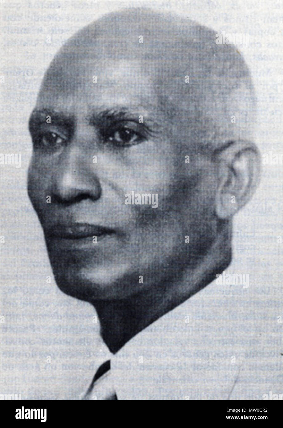 . English: photograph of José Urfé, Cuban clarinetist and composer . 1920s. self-scanned; photographer unknown 622 Urfe72 - Stock Image