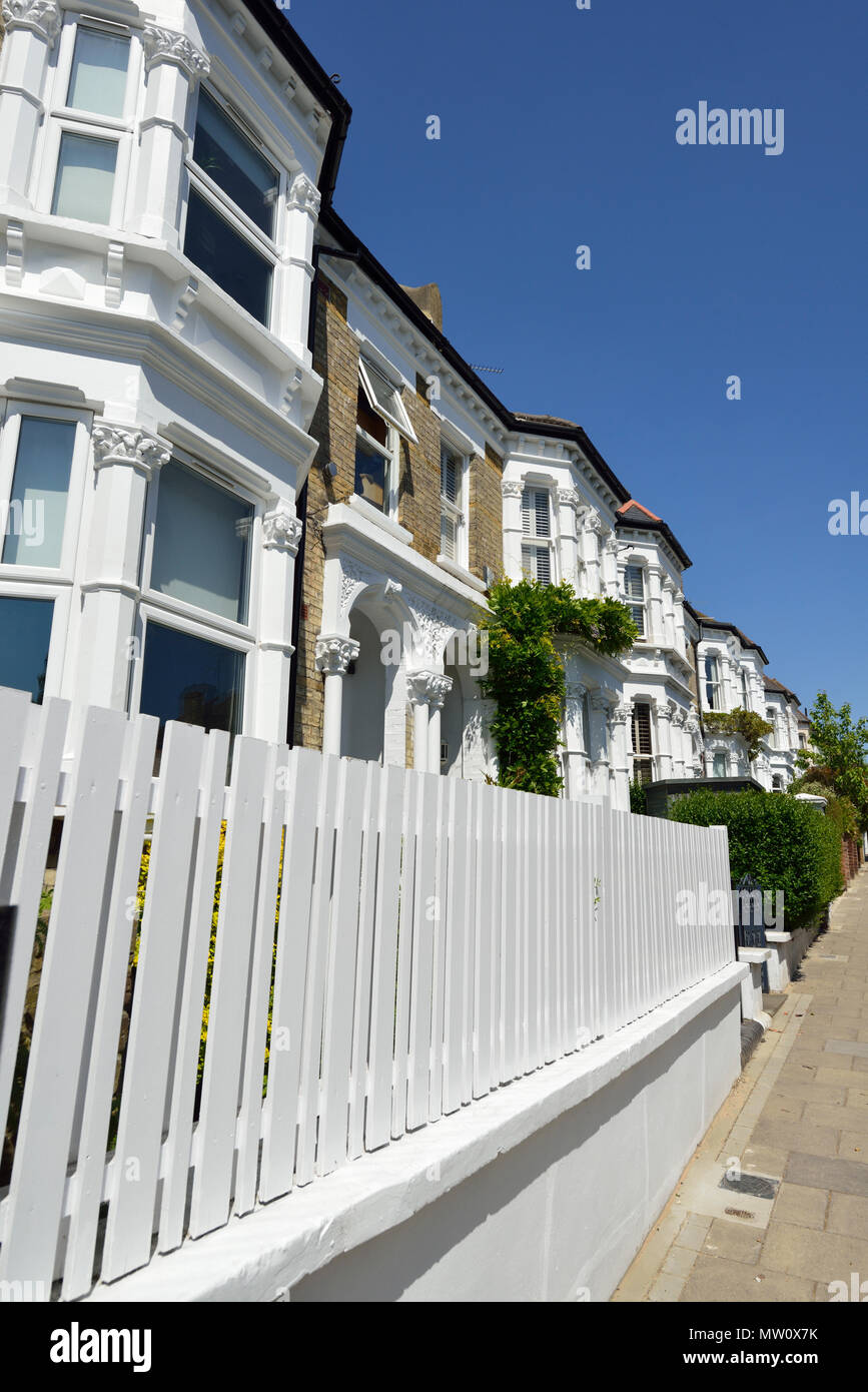 Broomwood Road, Wandswoth, Clapham, London, United Kingdom Stock Photo