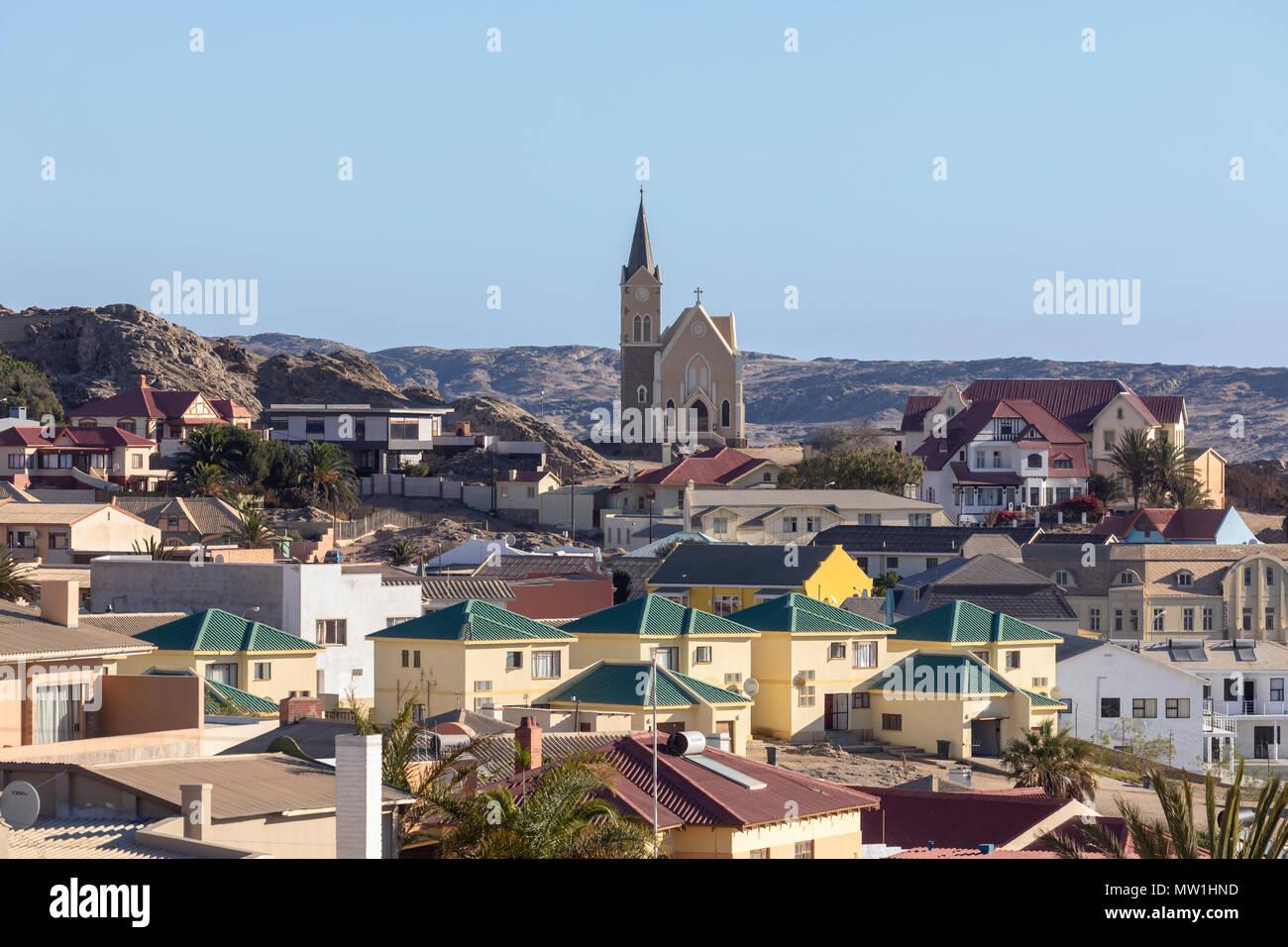 Luderitz, Namibia, Africa - Stock Image