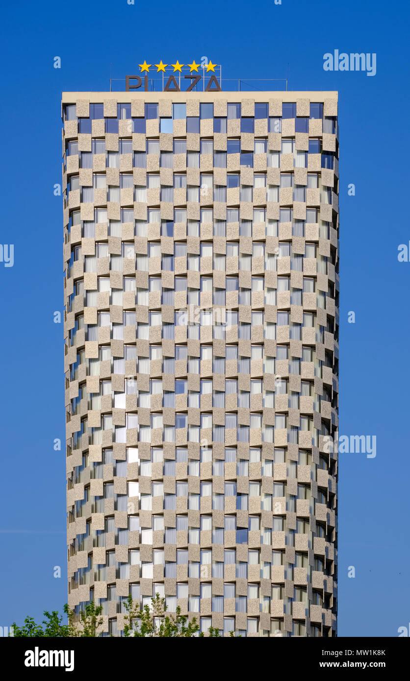 TID Tower, 5-star hotel, Tirana, Tiranë, Albania - Stock Image