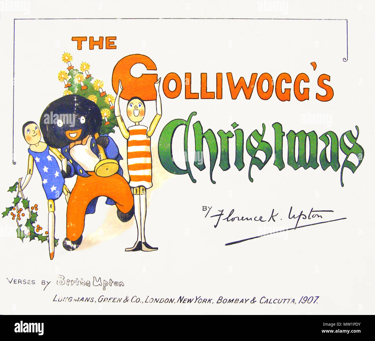 Cover of The Golliwogg\'s Chrismas by Bretha and Florence Kate Upton ...