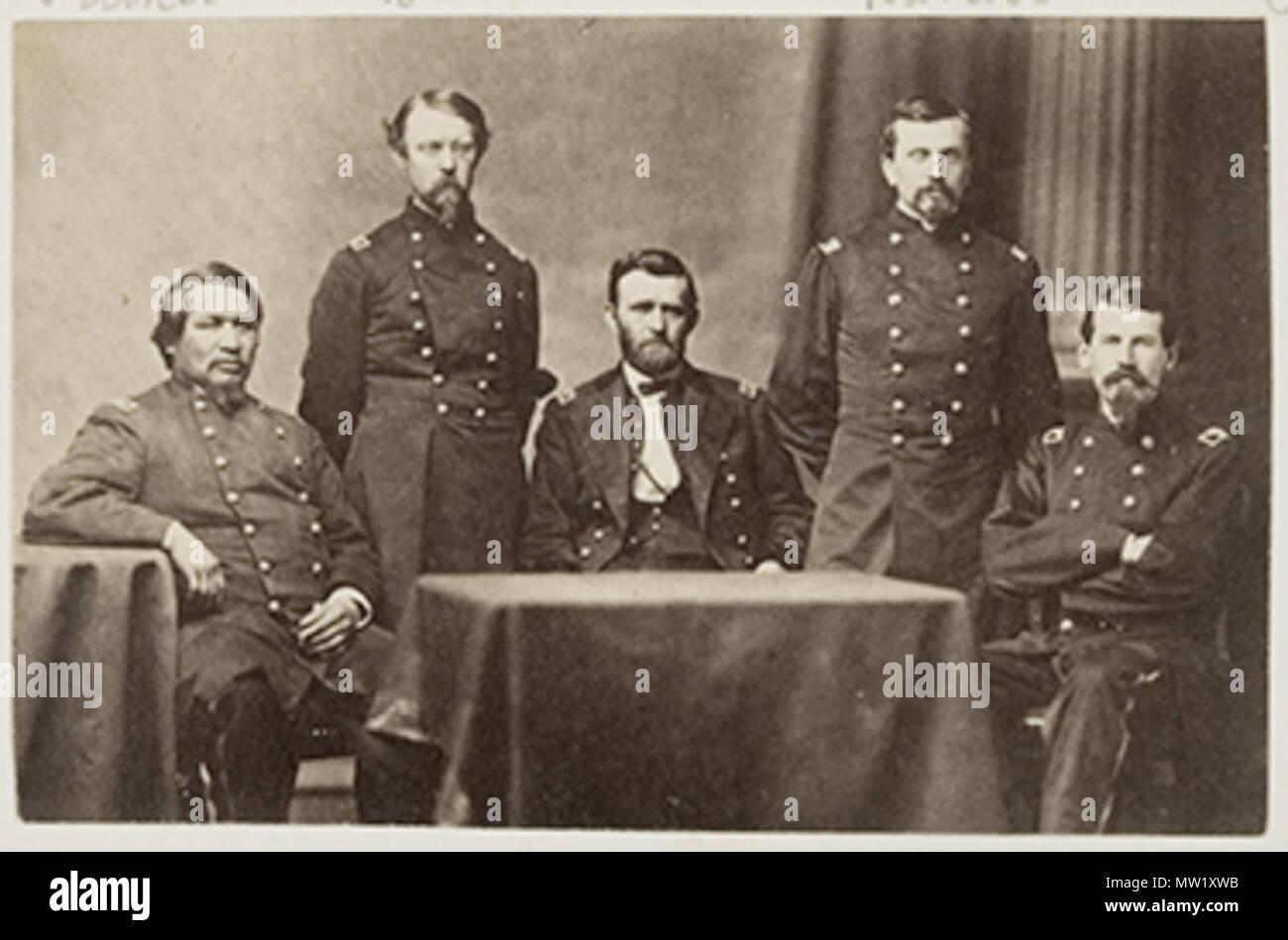 PHOTO PRINT 1891-1865 AMERICAN CIVIL WAR 03