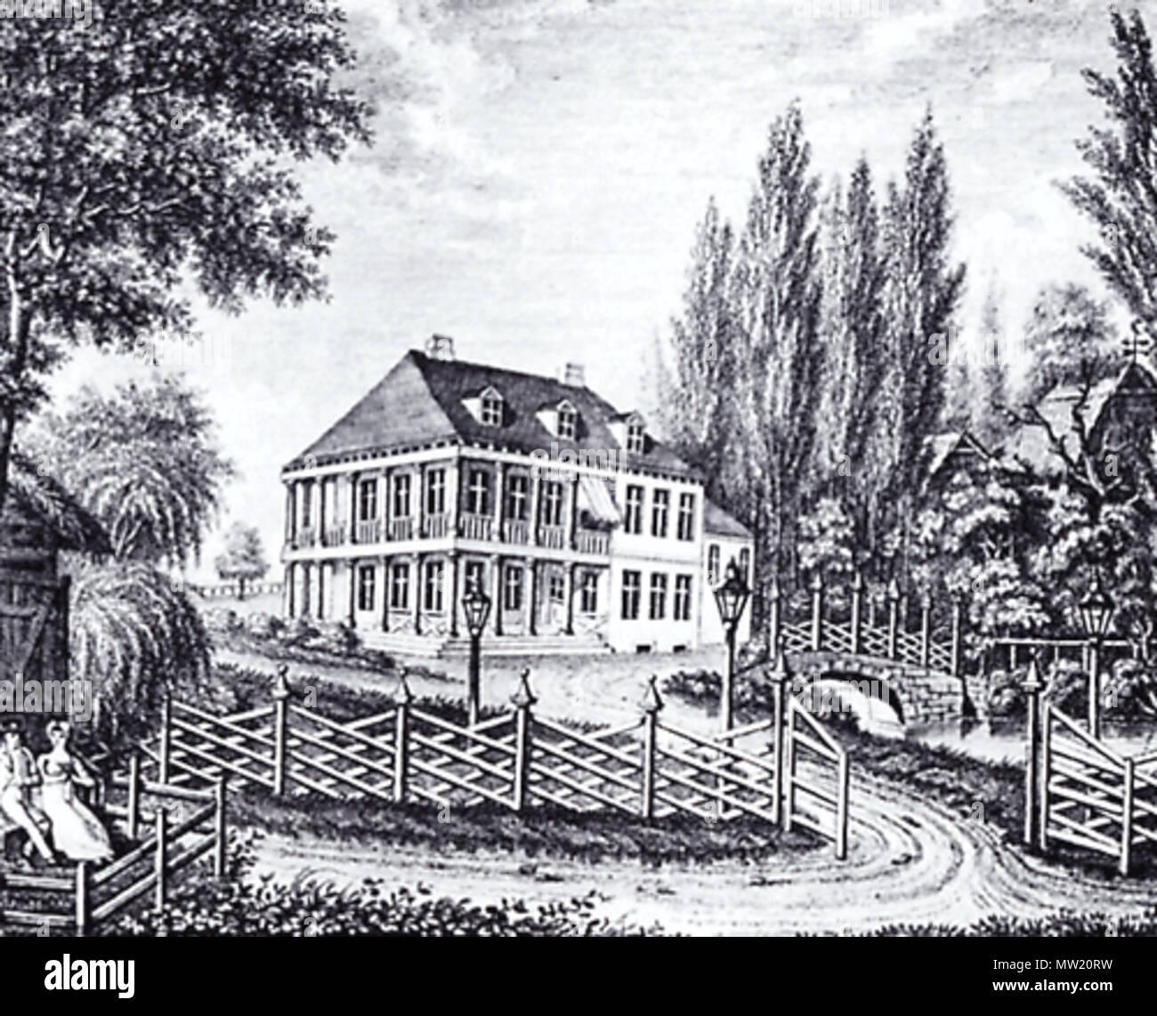 Deutsch Landhaus Von Caspar Voght In Hamburg Klein Flottbeck