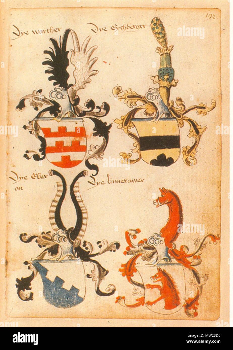. Ingeram-Codex der ehemaligen Bibliothek Cotta Dye warther Dye Eychberger Dye Eber/an Dye tamerawer 668 Ingeram Codex 192 - Stock Image