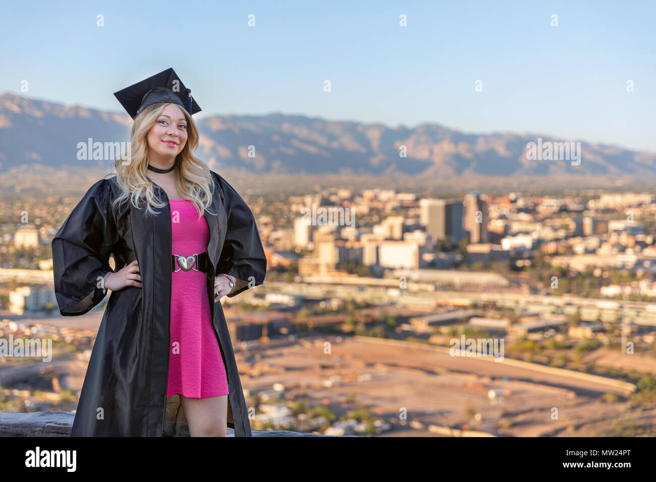 Proud Graduate - Stock Image