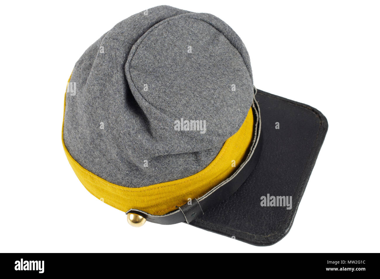 American Civil War Confederate Cavalry Kepi - Stock Image