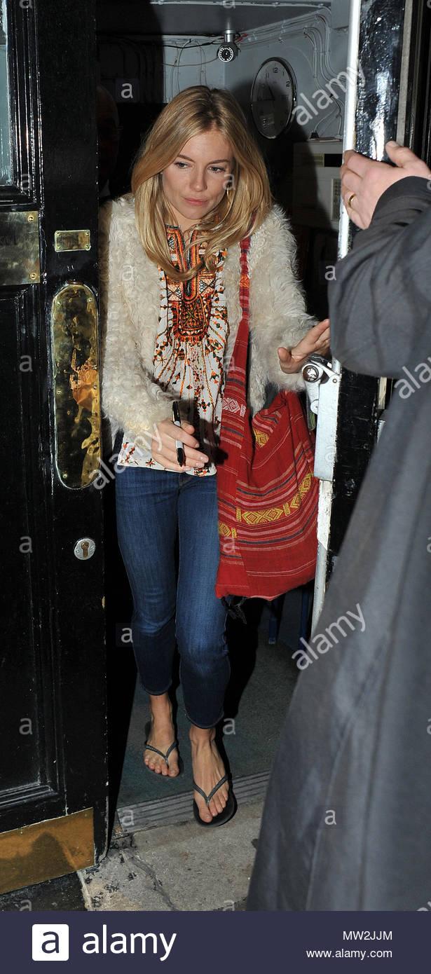 Sienna Miller Sienna Miller Leaving Theater Royal Haymarket After