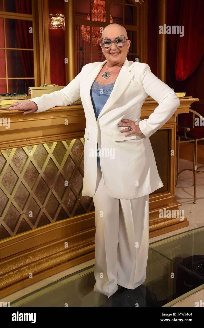 Dancing with the Stars TV show in Rome, Italy. Featuring: Carolyn Smith  Where: Rome, Italy When: