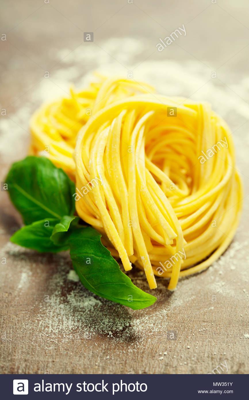 Fresh pasta - Stock Image