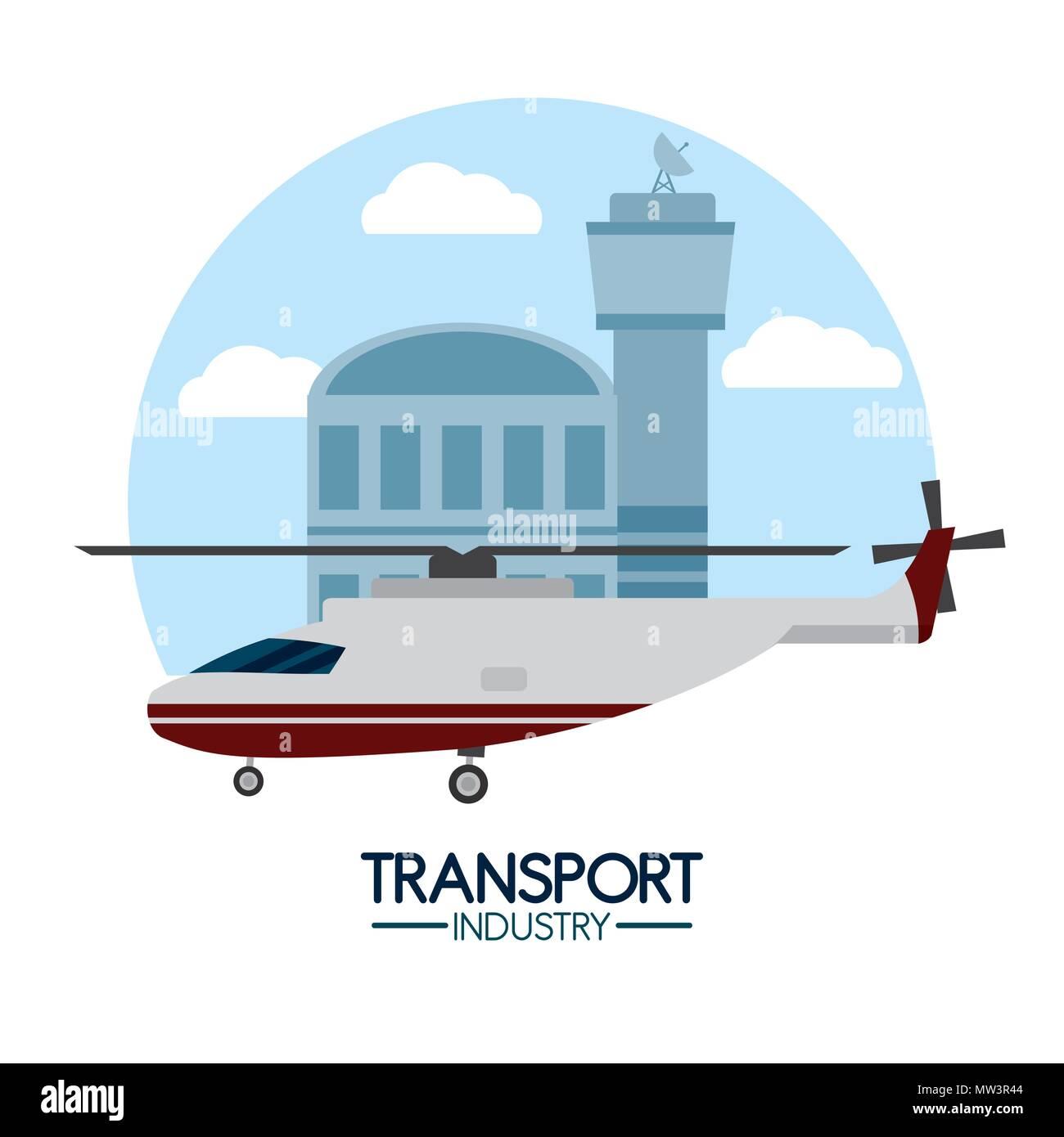 Transport industry concept - Stock Vector