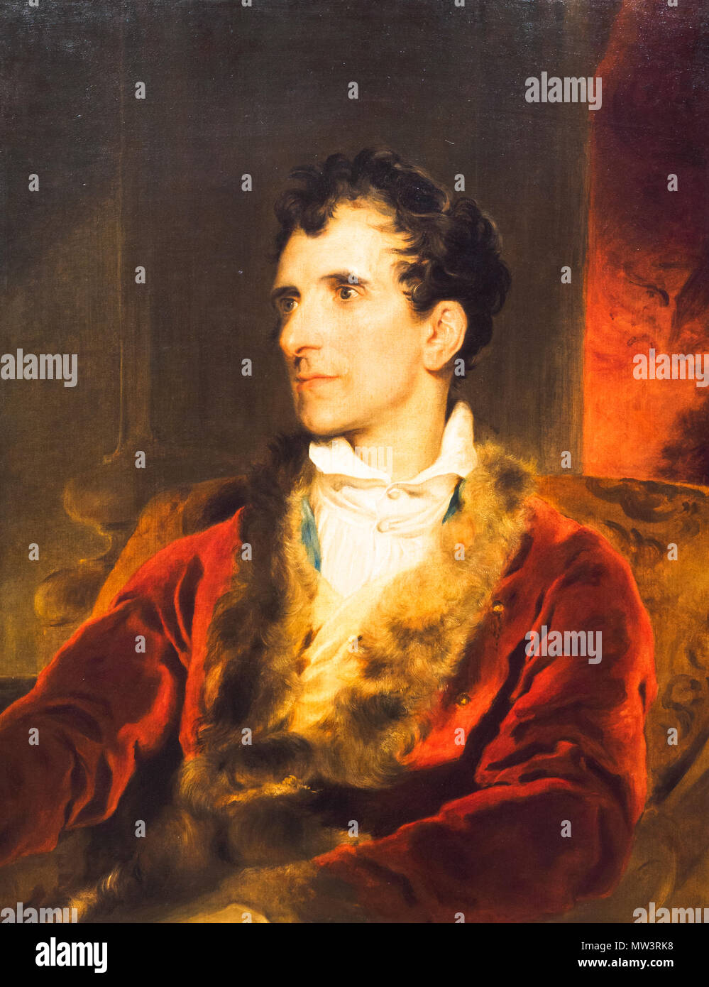 Antonio Canova (1757-1821) by Sir Thomas Lawrence (1769-1830) - Stock Image