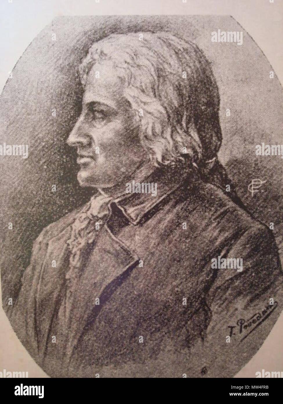 Español: Retrato a lápiz de Joaquín de Oreamuno de la Trinidad y ...
