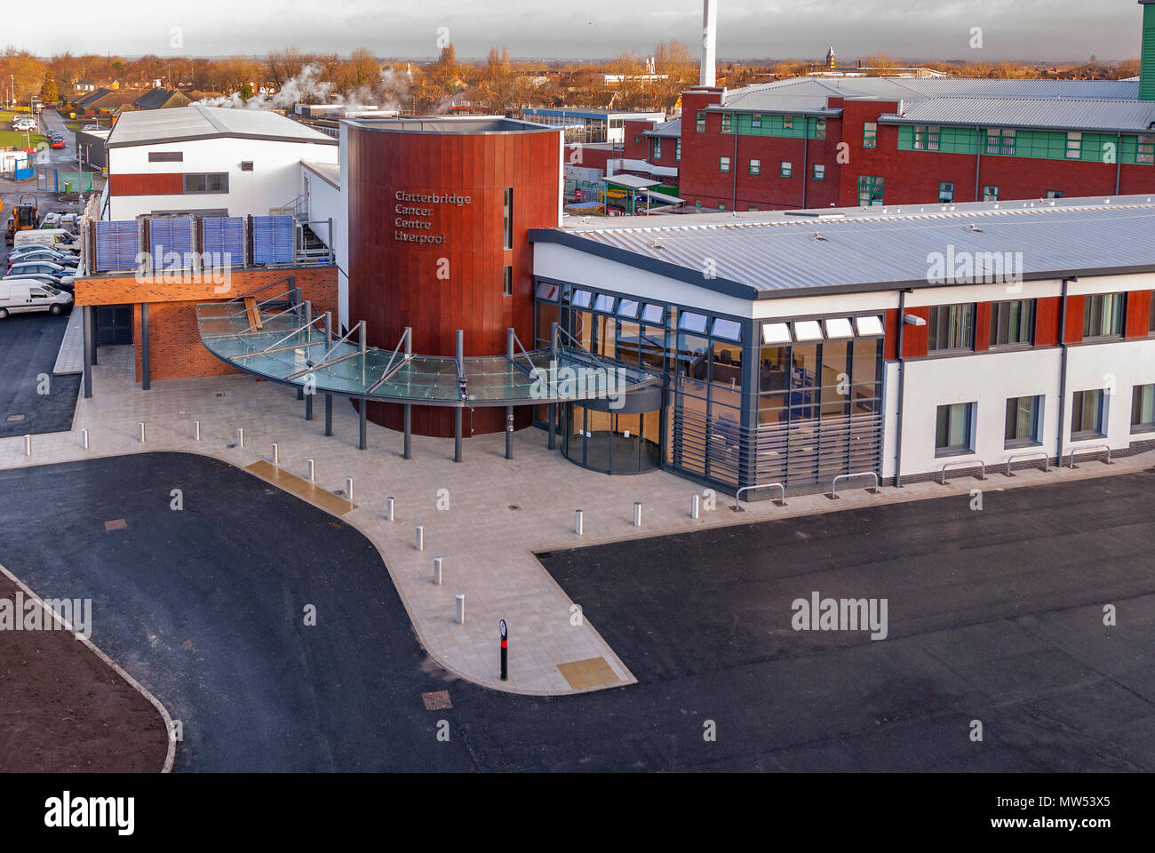 Clatterbridge Cancer Centre Liverpool. - Stock Image
