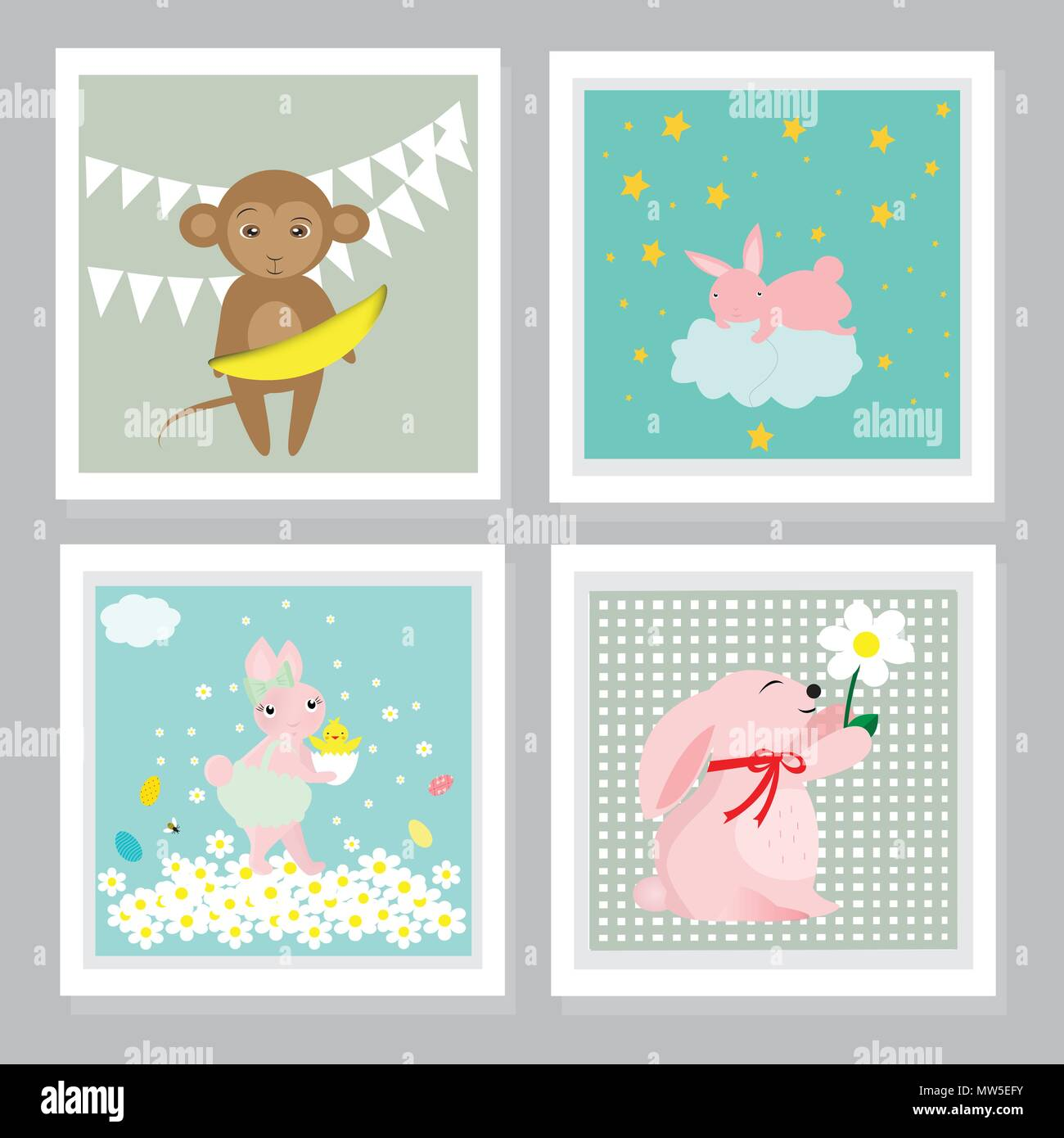 Animal Greetings Cards Stock Photos Animal Greetings Cards Stock