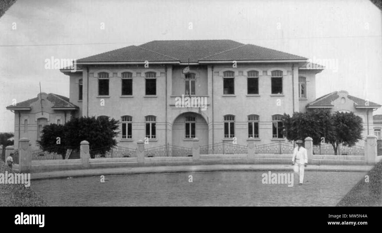 Portugues EE Antonio Joaquim De Carvalho Em Araraquara Between Circa 1919 And