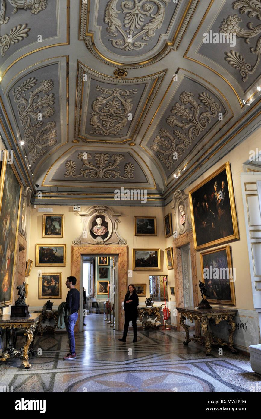 italy, rome, palazzo corsini, galleria nazionale di arte antica, corsini collection art gallery Stock Photo