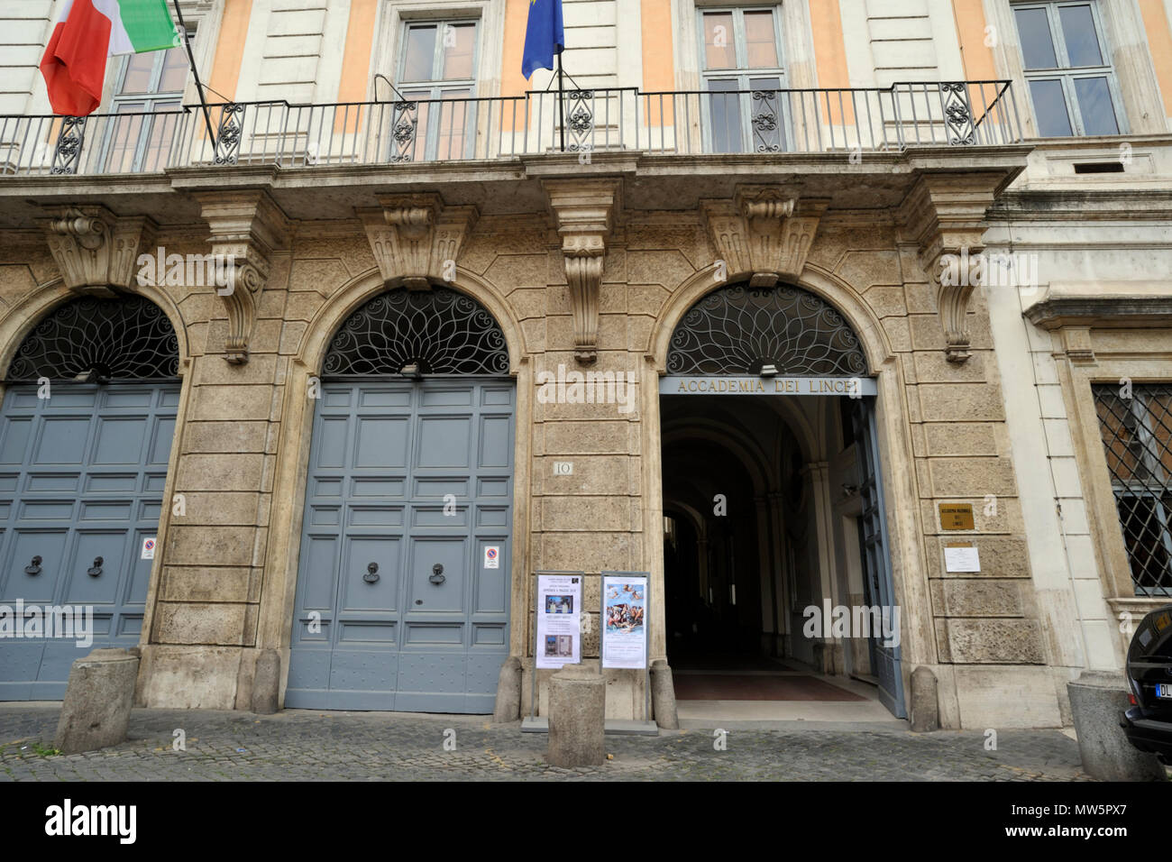 italy, rome, palazzo corsini, galleria nazionale di arte antica, corsini collection art gallery Stock Photo