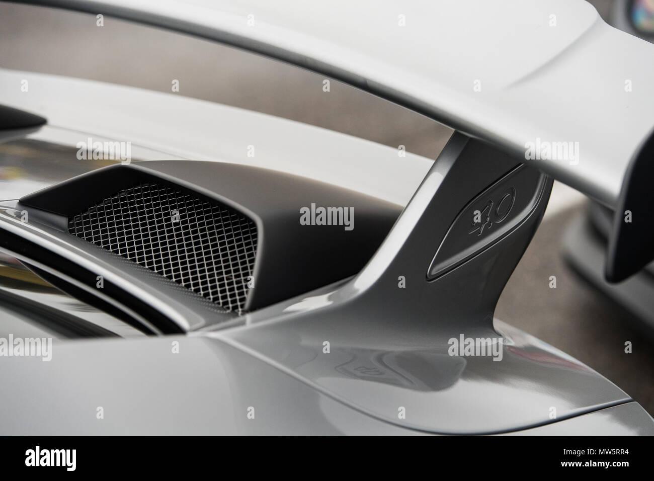 Porsche Gellerasen - Stock Image