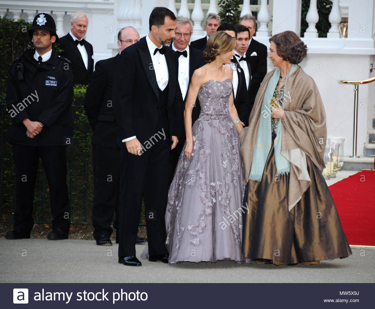 Prince Felipe Princess Letizia And Queen Sofia Reception Hosted By