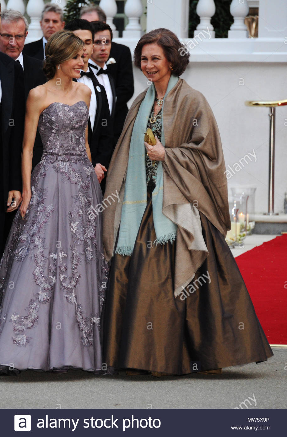 Princess Letizia And Queen Sofia Reception Hosted By Queen