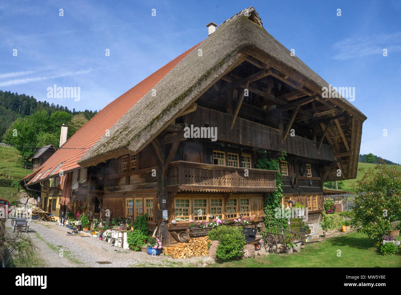old farm house germany stock photos old farm house germany stock images alamy. Black Bedroom Furniture Sets. Home Design Ideas