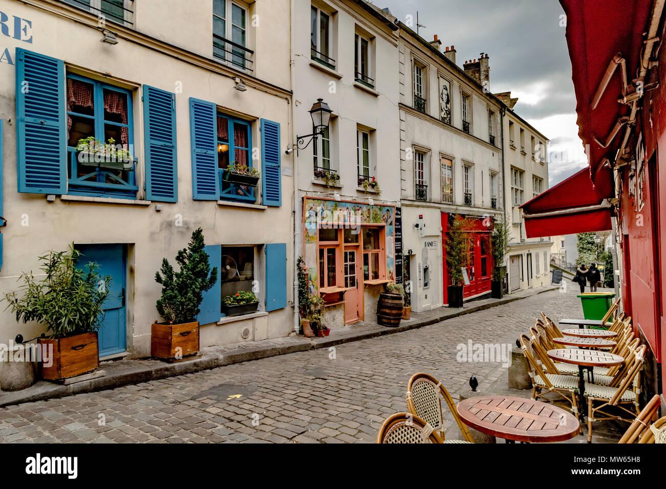 La Pétaudière , Montmartre,Paris - Stock Image