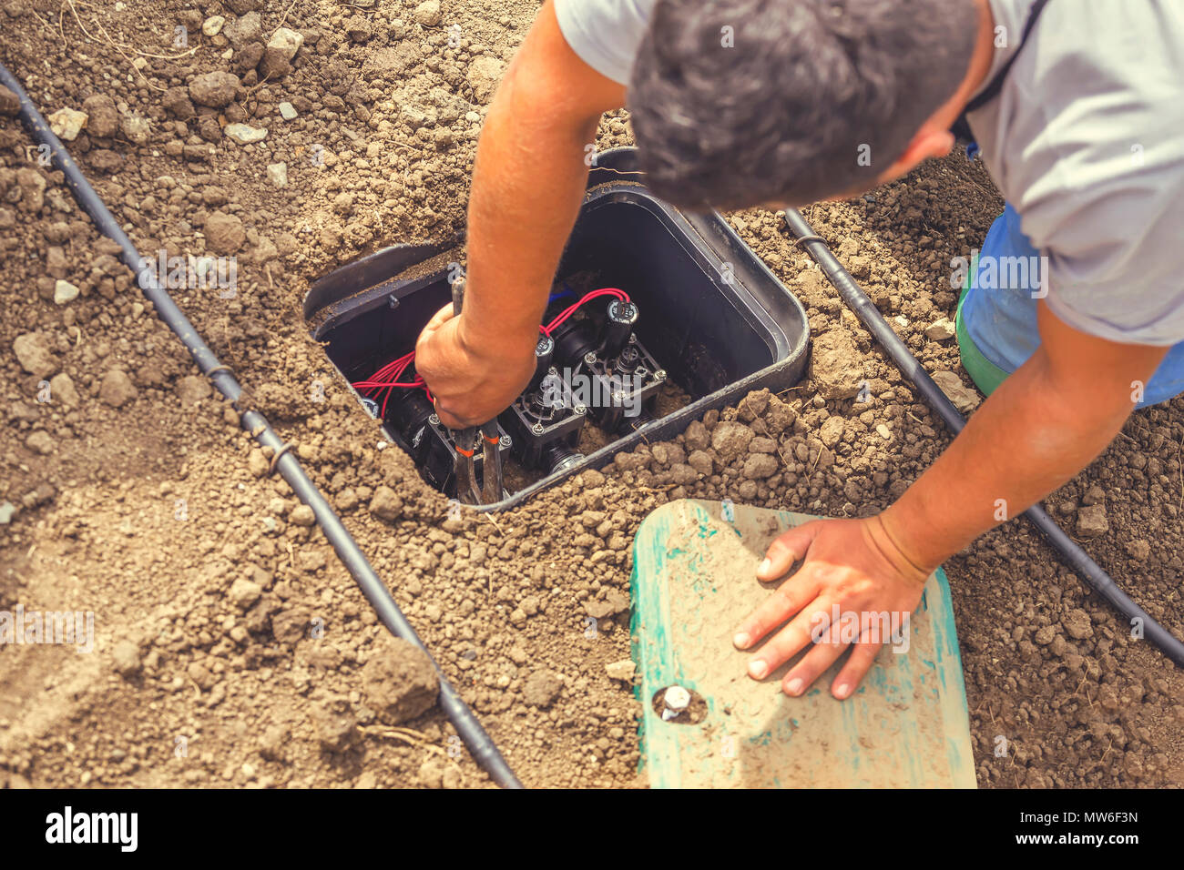 Installing A Subsurface Drip Irrigation System Psa