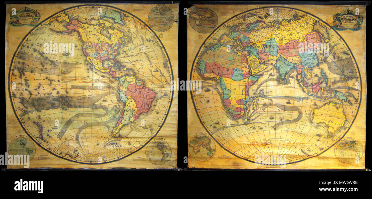 Pelton S Political Physical Map Of The Western Hemisphere