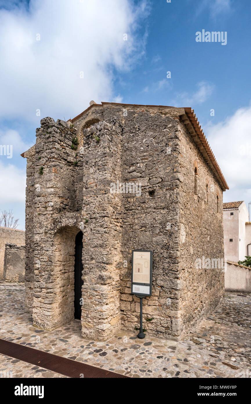Chiesa di San Giovanello, 10th century, Romanesque style, Greek Orthodox church, in Gerace, Calabria, Italy - Stock Image