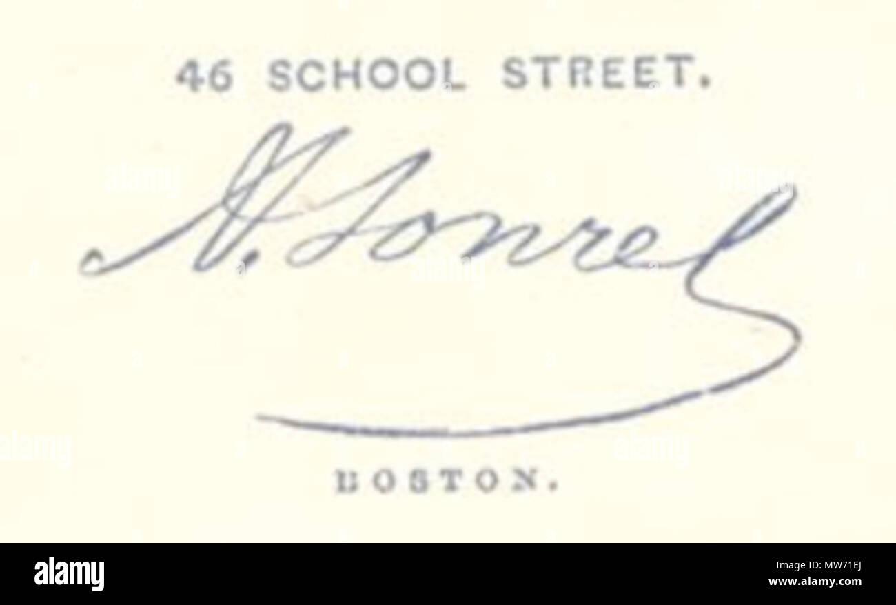 Verso Of Carte De Visite Photographed By A Sonrel Boston Circa 1865 21