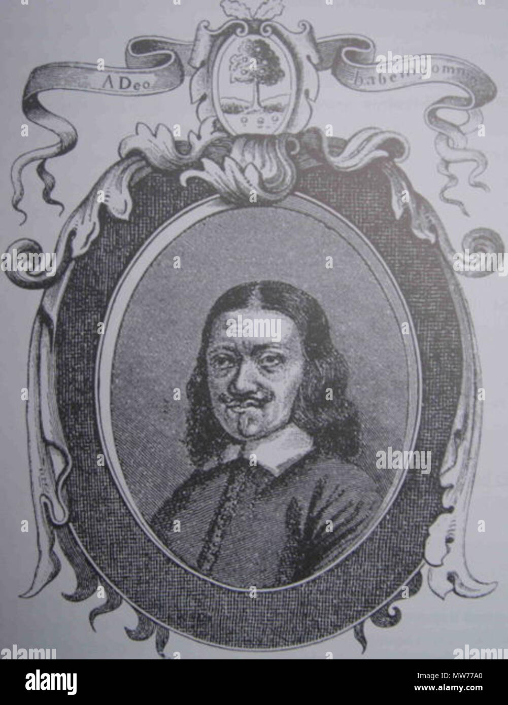 . English: Johannes Mejer (1606-1674), Danish mathematician and map maker (see Category:Maps by Johannes Mejer Dansk: Johannes Mejer (1606-1674), dansk kartograf. Unknown date but very likely more than 70 year ago. Unknown 320 JohannesMejer - Stock Image