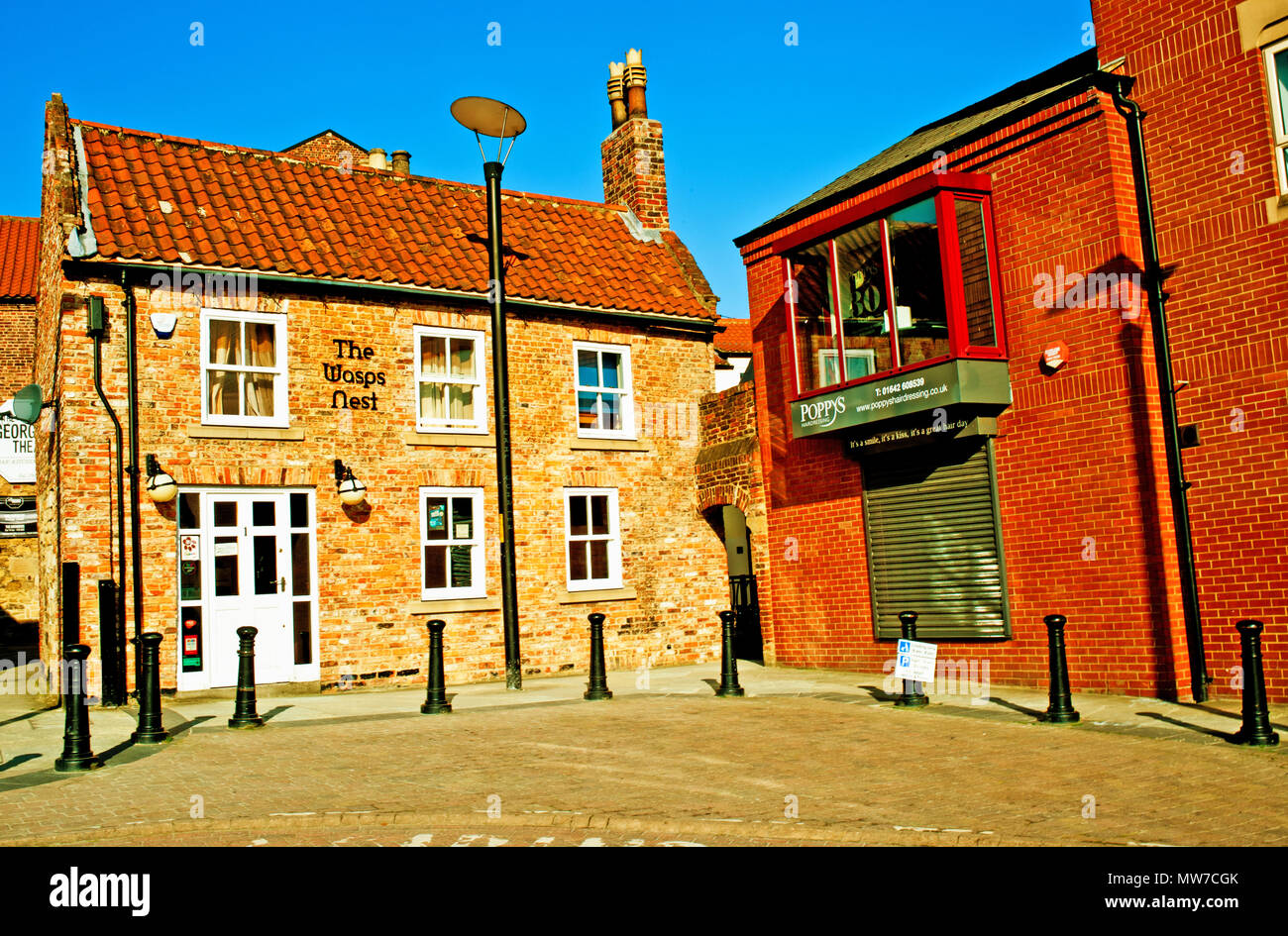 The Wasps Nest, Calverts Yard, Stockton on Tees, Cleveland, England - Stock Image