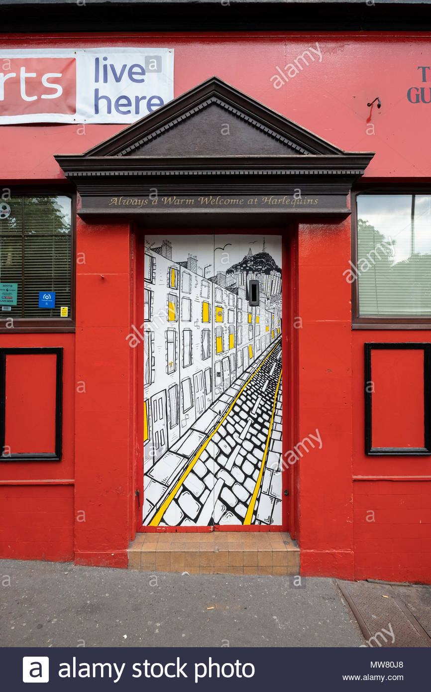 Street art project Openclose Dundee using art on doors in out of the way alleyways and lanes by local artists. The Northeastern by Pamela Scott & Street art project Openclose Dundee using art on doors in out of the ...