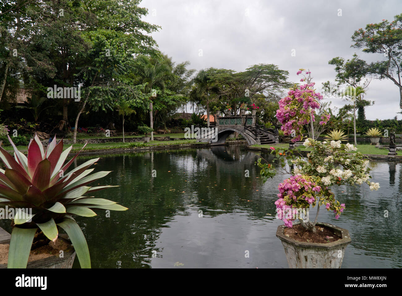 Tirta Gangga Royal Water Garden: Water Maze Stock Photos & Water Maze Stock Images