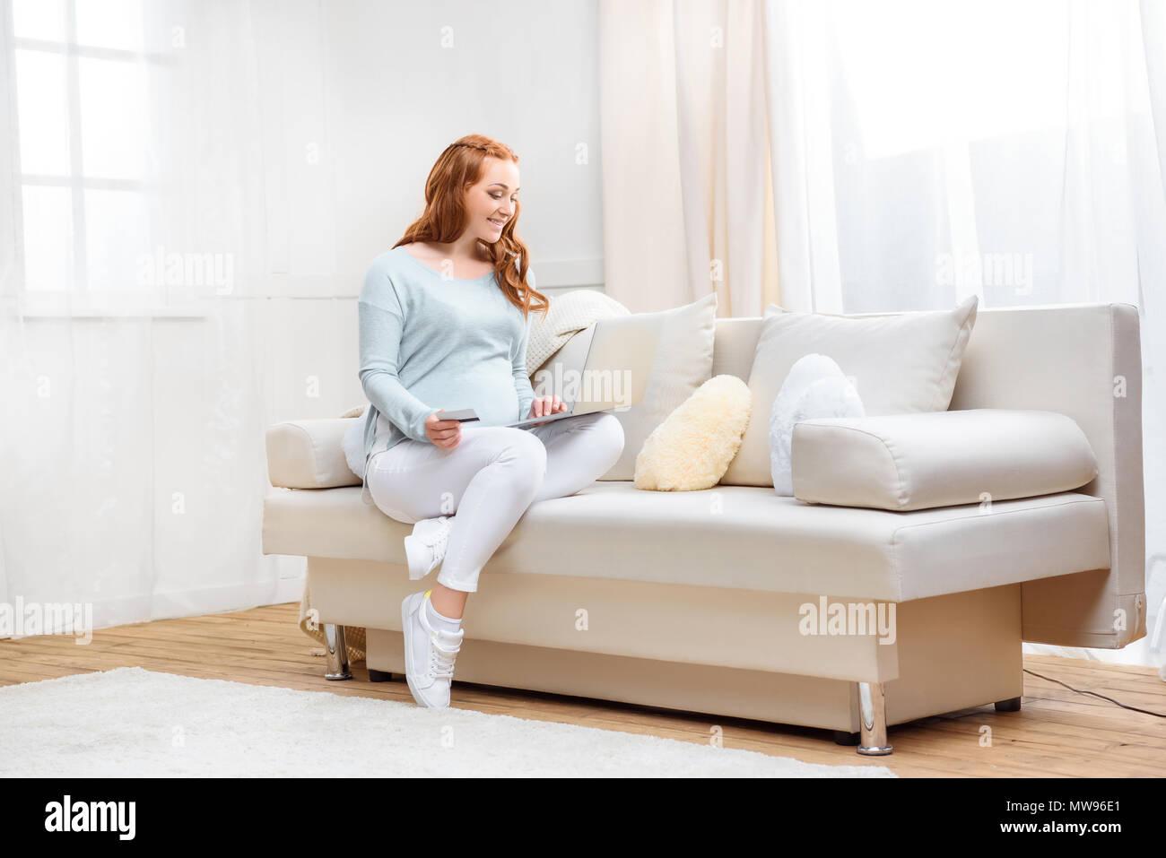 Mature redhead sofa useful