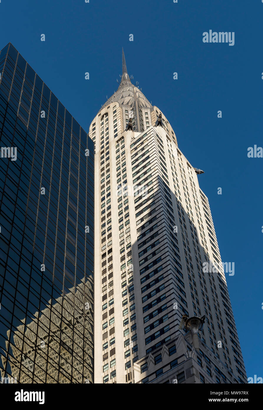 Chrysler Building, Manhattan,  New York City, USA - Stock Image