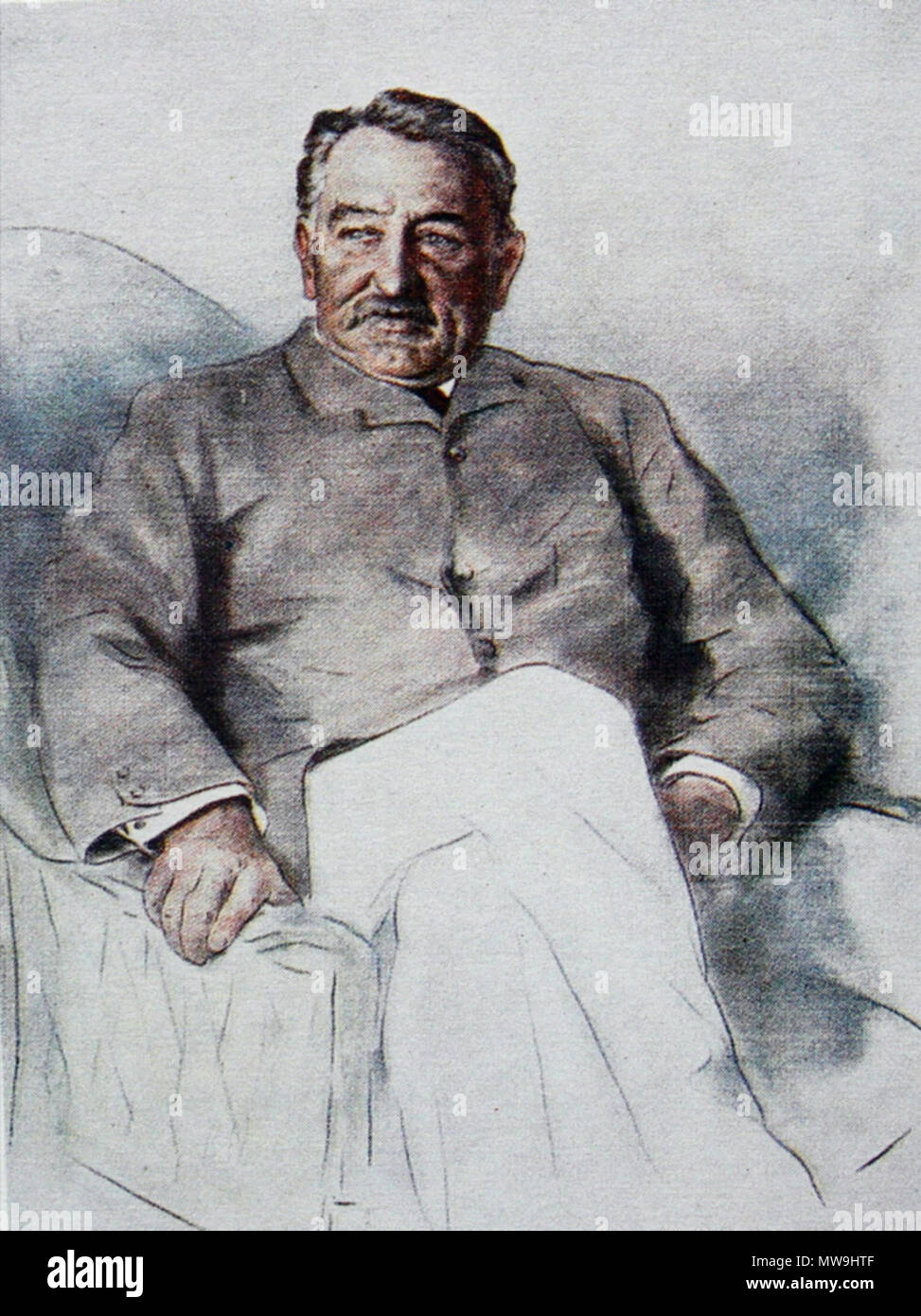 . Cecil John Rhodes 1853-1902 South African mining magnate and politician    119 Cecil john rhodes00 - Stock Image
