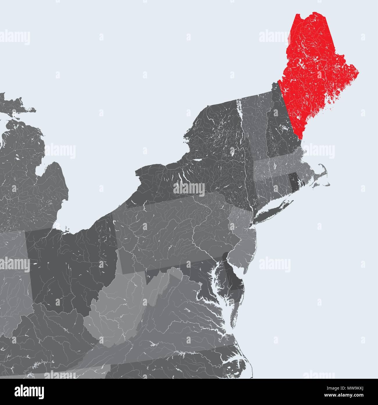 U.S. states - Northeastern United States - Maine - hand made ... on europe rivers map, latvia rivers map, indiana rivers map, zimbabwe rivers map, texas rivers map, paraguay rivers map, india rivers map, china rivers map, colorado rivers map, south america rivers map, washington rivers map, canada rivers map, ohio river map, mississippi rivers map, oregon rivers map, north america rivers map, southern africa rivers map, arkansas rivers map, idaho rivers map, east coast rivers map,