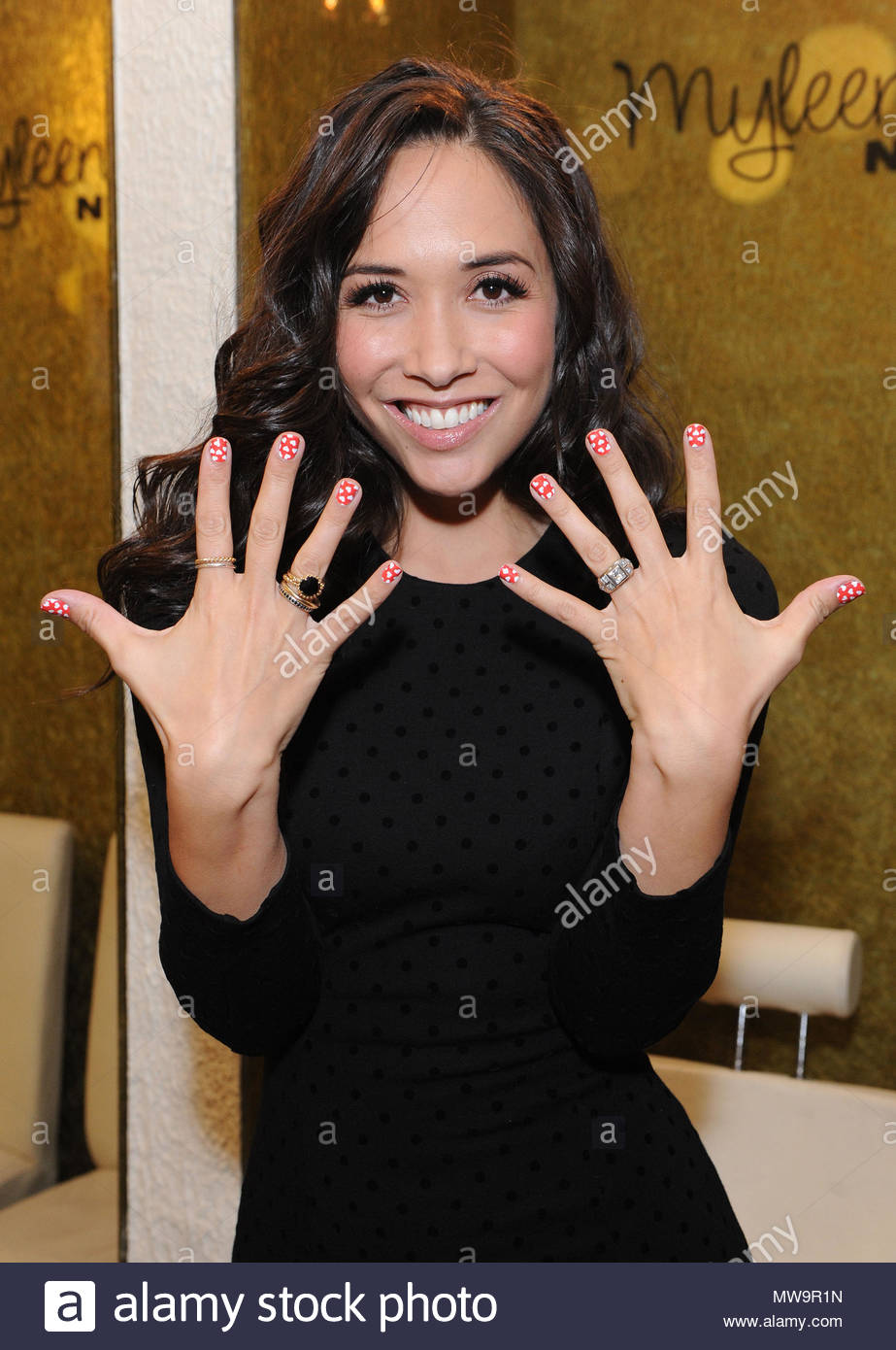 Myleene Klass Myleene Klass Launches Myleene Klass Nails Her New