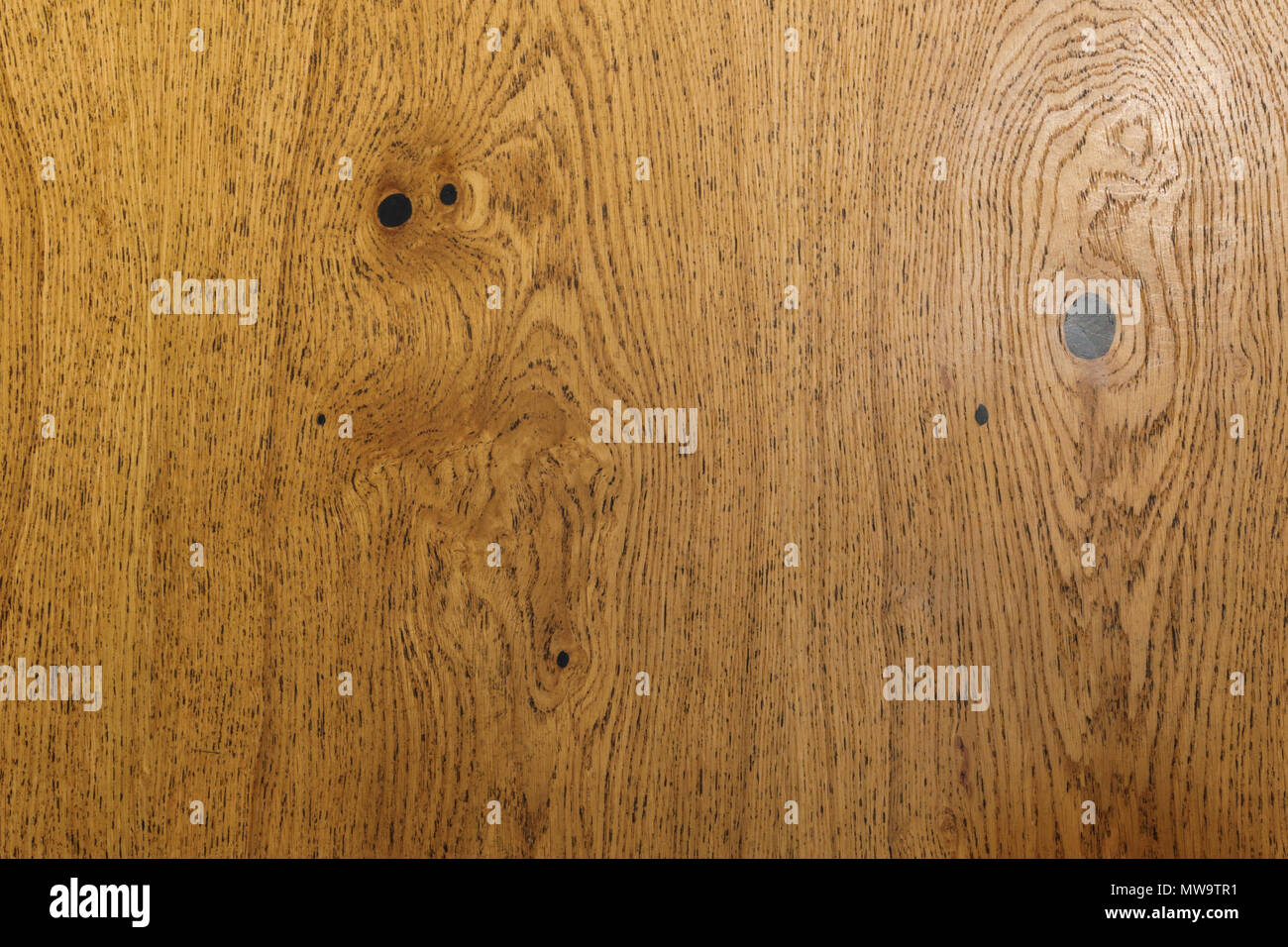 Empty surface of wooden table texture - Stock Image