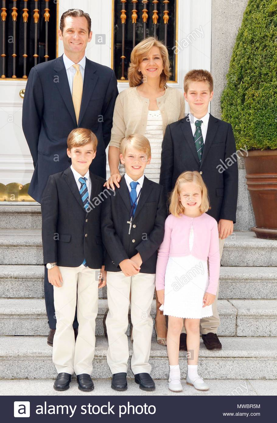 princess cristinas christmas card the spanish royal family has sent christmas cards 2011 despite inaki urdangarin being separated from the offcial acts - Royal Family Christmas Card