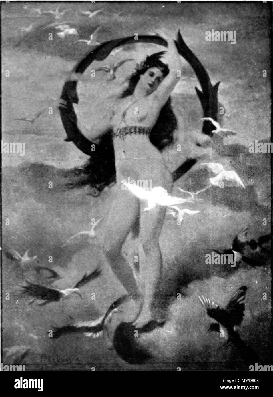 .  Français: Le point d'interrogation . 10 August 2012. Fernand Le Quesne 206 Fernand Le Quesne - Le point d'interrogation - Stock Image